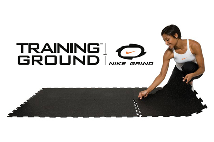 Training Ground Tiles with Nike Grind