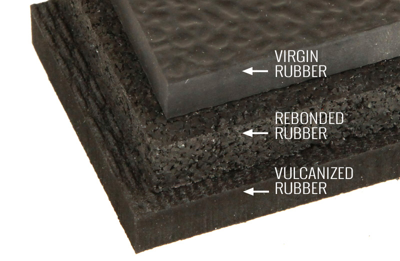 Types Of Rubber Flooring